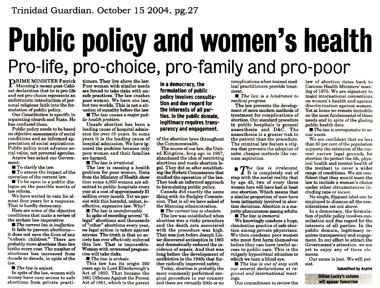 abortion a moral and pro choice decision among women In fact, pro-lifers like senator lee are much likelier than their pro-choice peers to actually address abortion by using rational argumentation, based on a clear moral question about when life begins.